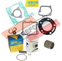Honda CR125 2001 54mm Bore Mitaka Top End Rebuild Kit Inc Piston & Gaskets